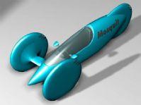 未来概念车设计3D模型