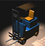 叉车3D模型