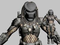 异形,铁血战士3D模型