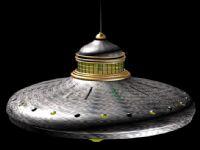 UFO,飞碟,不明飞行物3D模型