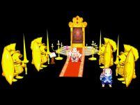 仓鼠国王的王宫大厅,3D游戏场景模型