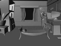 室内效果设计3D模型