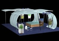 雅士轩房地产公司展厅设计3D模型