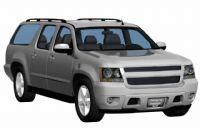 雪佛兰SUBURBAN SUV3D模型