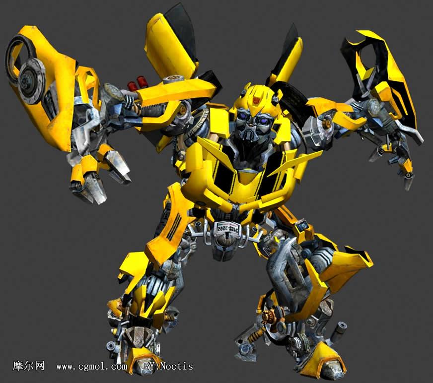 大黄蜂3d模型