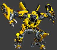 变形金刚 Bumble bee 大黄蜂3D模型
