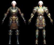 神魔大陆人类战士3D模型