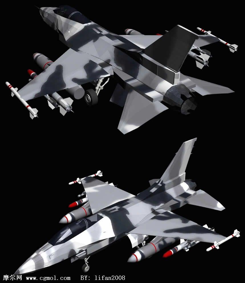 F16�鸲�C �w�C3D模型