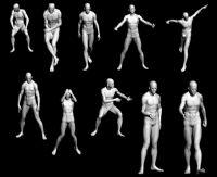 男性人体模型合辑