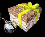 圣诞礼物盒 挂球 3D模型
