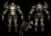 怪物,3D游戏角色模型