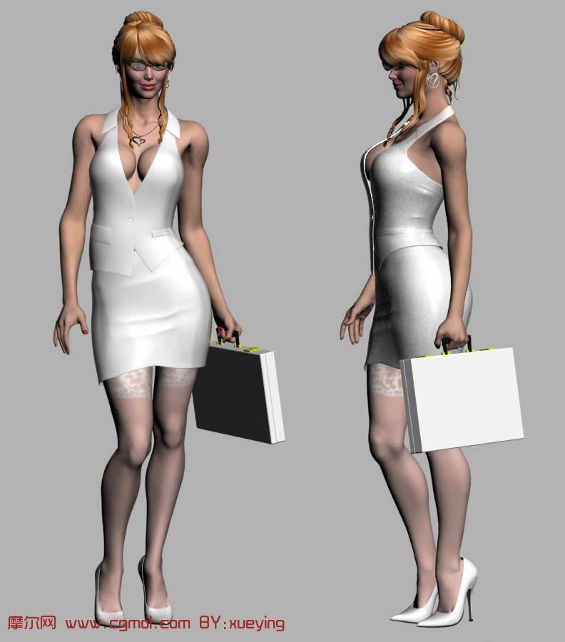性 3d人物模型