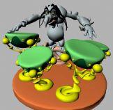 怪物鼓手3D模型