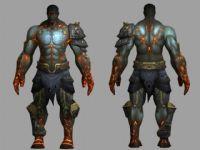 魔兽世界游戏角色3D模型
