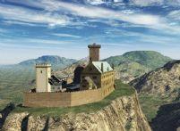 山顶城堡3D模型