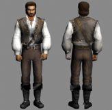 国外游戏角色3D模型