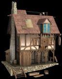 木屋,木房子,楼房,住房3D模型