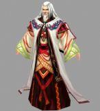 《诛仙2》中的NPC老人3D模型