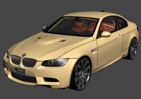 宝马M3汽车3D模型
