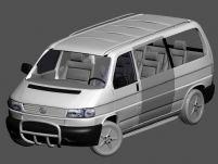 大众商务车3D模型