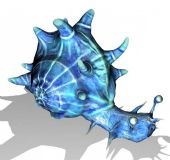 科幻想象的蜗牛3D模型