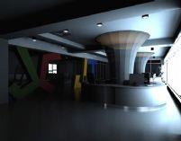大厅,商务大厅,办公大厅设计3D模型