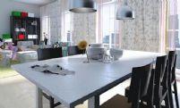 时尚阳光家居客厅,大厅3D模型