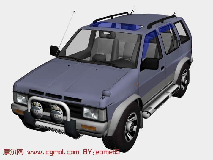 尼桑Nissan Terrano越野车3D模型