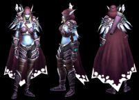 魔兽世界亡灵领袖暗夜公主希尔瓦娜斯,逐风者3D模型