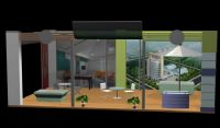 3D房地产商展厅设计模型