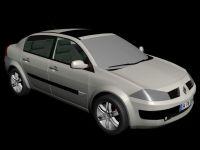 雷诺megane梅甘娜汽车3D模型