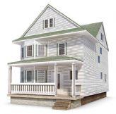 国外建筑,国外房屋,别墅3D模型