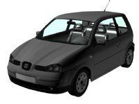 西亚特汽车3D模型