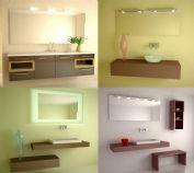洗手间,洗手池3D模型二