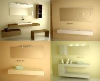 洗手间,洗手池3D模型三