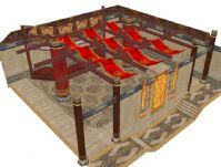 玉符店 3D游戏场景模型
