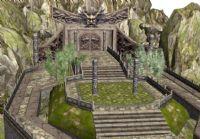 游戏《玄武豪侠传》中的3D场景模型