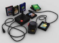 游戏触感控制器3D模型