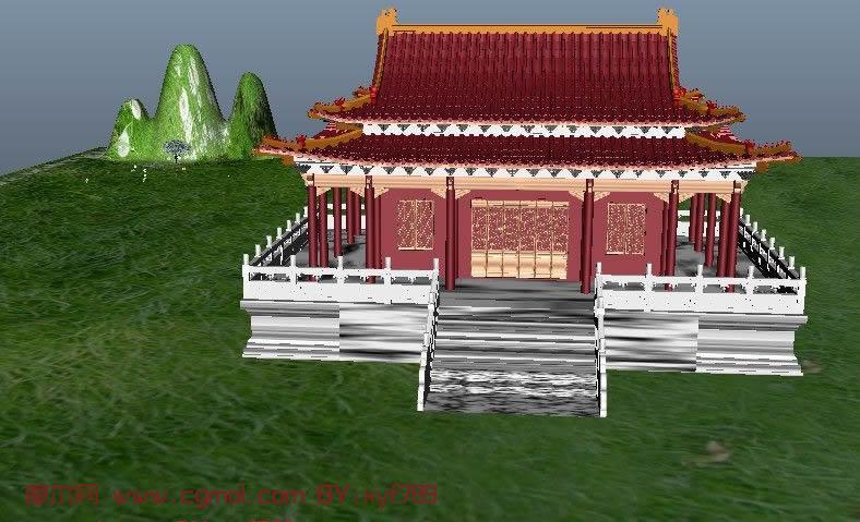 游戏场景-3D模型