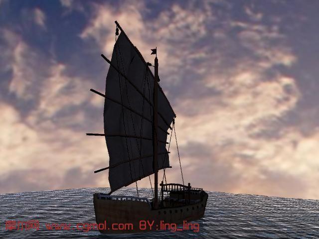 船只3D模型