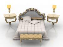 欧式家具3D模型