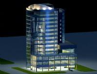 现代建筑.摩登大楼,大厦3D模型