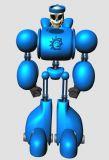 机器骷髅战士,maya模型
