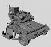 maya装甲车,重型机车,导弹发射车3D模型