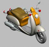 摩托车,电动车3D模型