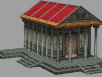 房子,欧式建筑,国外建筑,房屋3D模型