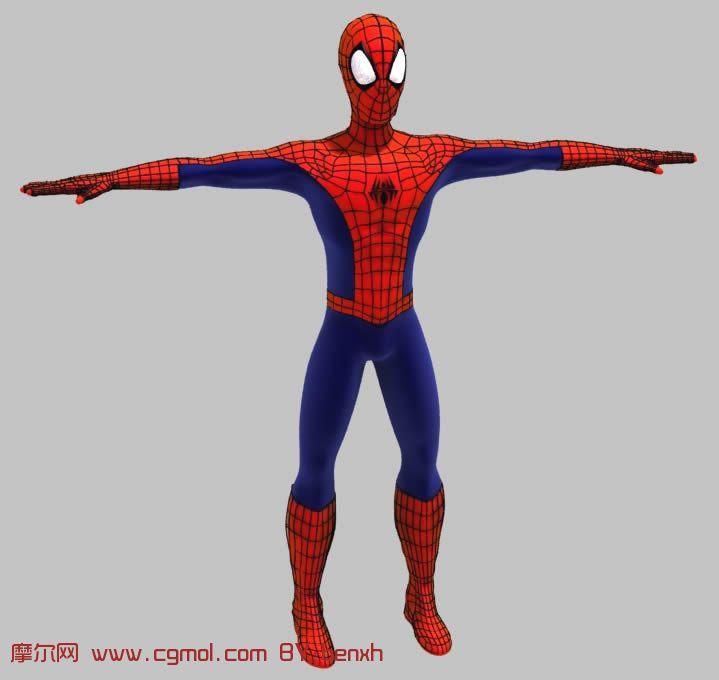 蜘蛛侠3d模型