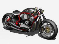 超精细个性摩托车3D模型