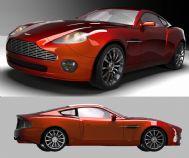 超精细阿斯顿马丁汽车3D模型