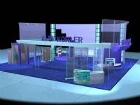 公司展厅,max模型